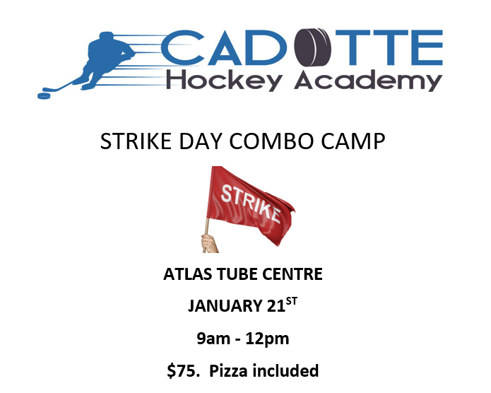 STRIKE DAY CAMP - January 21st, 2020